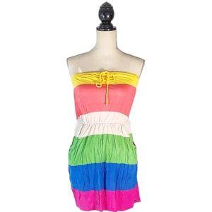☀️4/25 Garage Strapless Dress w/Pockets